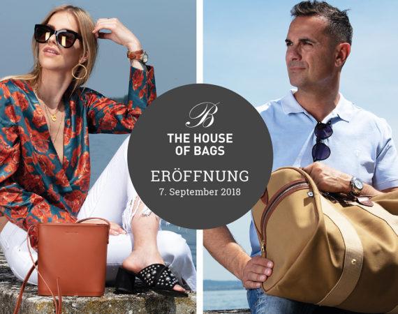The House of Bags eröffnet am 7. September 2018 an der Frauenfelderstrasse 22 in Weinfelden ersten Store